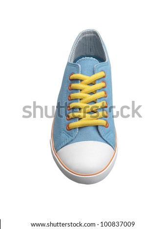 Colorful of sneaker shoe - stock photo