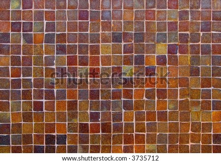 Colorful old stone wall texture, background