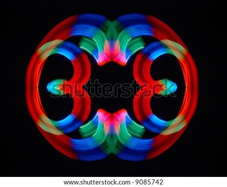 Colorful ornament - stock photo