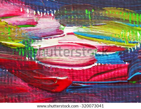 colorful paint arts on paper brush background texture acrylic