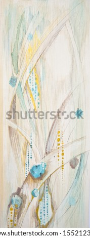 Colorful painted background - stock photo