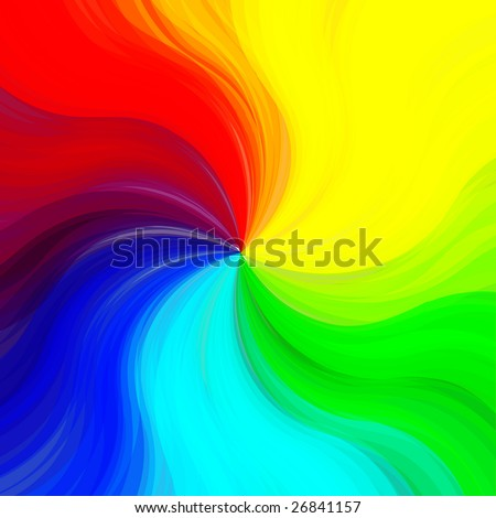 Colorful painted background.
