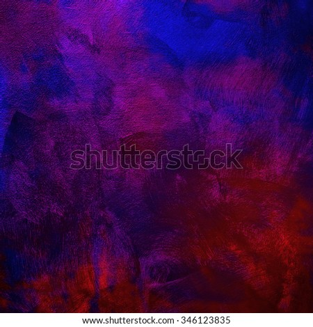 colorful painting - stock photo