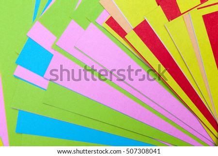 colorful paper for kids play