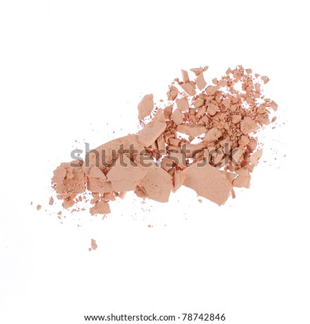 colorful pastel texture. over white - stock photo
