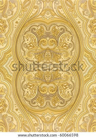 colorful persian style ornament. More of this motif and more decors in my port. - stock photo