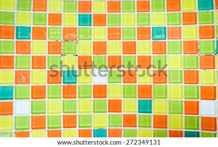 Colorful pieces of glass texture background