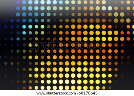 Colorful points abstract background