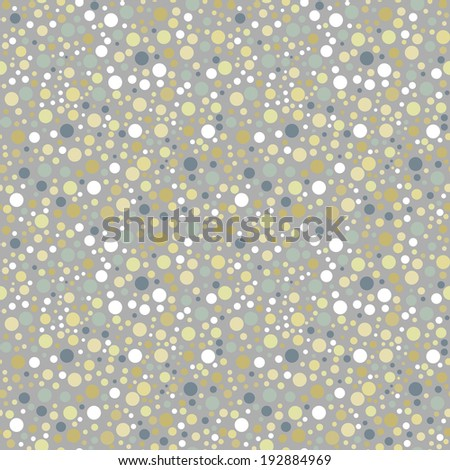 Colorful polka dot seamless pattern. Abstract background