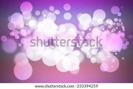 colorful purple holiday bokeh. Abstract Christmas background. - stock photo