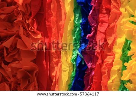 colorful rainbow homosexual symbol - stock photo