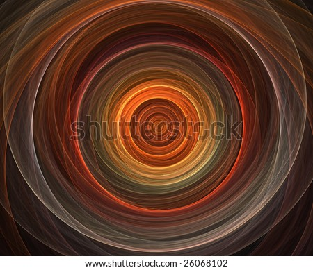 Colorful rendered fractal design (abstract background) - stock photo