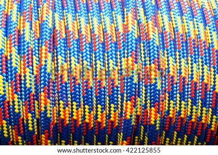 colorful rope background