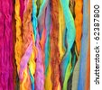 Colorful shawls - stock photo