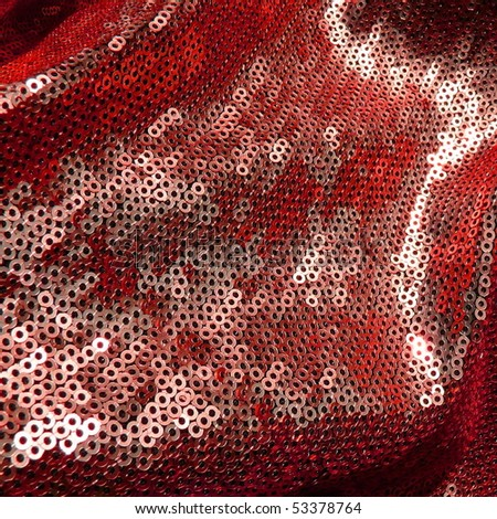 colorful shining sequins. More of this motif & more sequins in my port. - stock photo