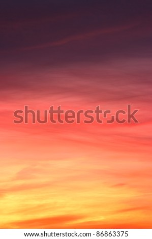 Colorful sky texture - stock photo