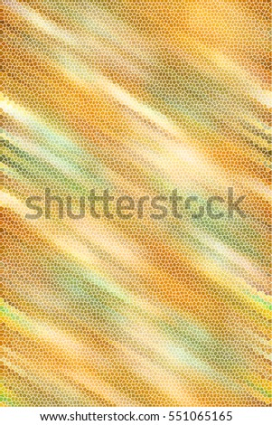 Colorful sloping mosaic textured abstract vertical rectangle background for textile, ceramic tiles and design. Aspect ratio 3:2