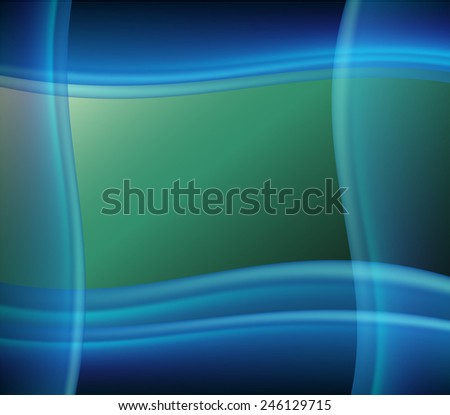 Colorful smooth twist light lines  background - stock photo