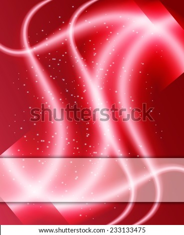 Colorful smooth twist light red background - stock photo