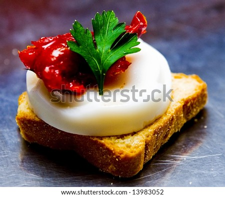 Colorful snack - stock photo