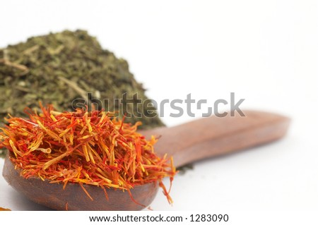 colorful spicy, shallow dof - stock photo