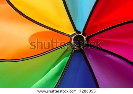 Colorful spinwheel