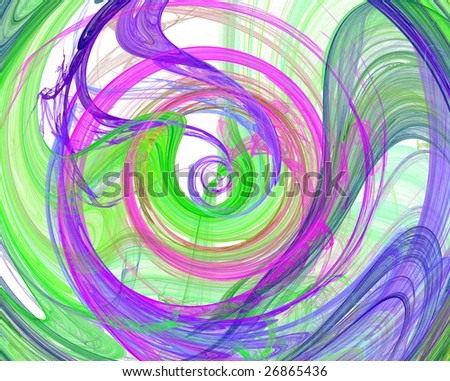 colorful spiral design image