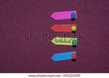 Colorful Sticky notes - stock photo