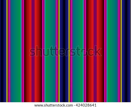 Colorful striped abstract background, variable width stripes.