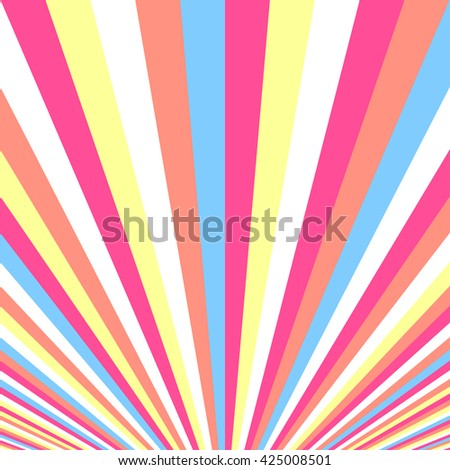 Colorful striped pattern.