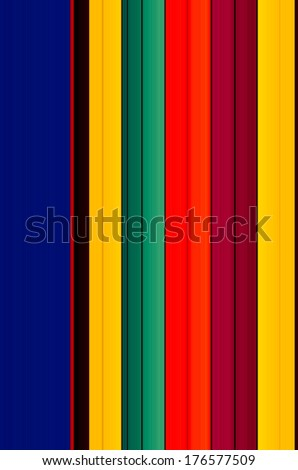 Colorful Stripes Background - stock photo