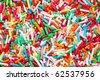 colorful sugar sprinkles - stock photo