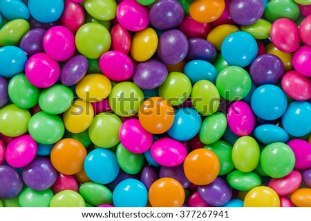 Colorful sugary candy for backgrounds - stock photo