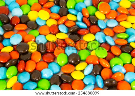 colorful sweet candy on background - stock photo