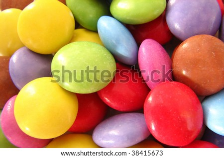 Colorful sweets - stock photo