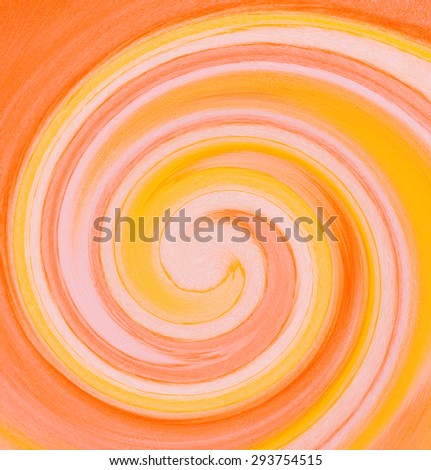 colorful swirl - abstract graphic design background - stock photo