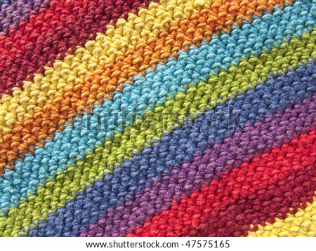 Colorful textile fabric