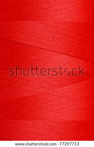 Colorful thread in spool - stock photo