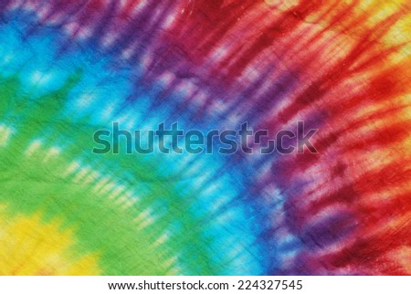colorful tie dye pattern for background.