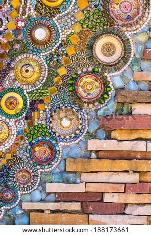 colorful tiles mosaic,background