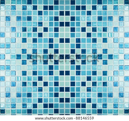 colorful tiles,mosaic,background - stock photo