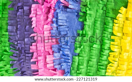 Colorful tissue paper as a background image - stock photo