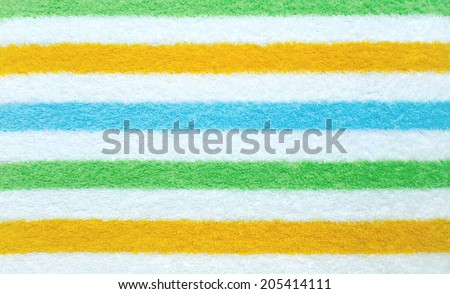 Colorful Towel Texture Background - stock photo