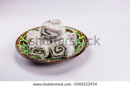 Fantastic Turkey Eid Al-Fitr Food - stock-photo-colorful-turkish-delight-lokum-with-nuts-on-plate-a-traditional-eid-al-fitr-sweet-1040323954  Snapshot_394351 .jpg