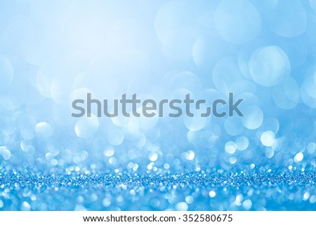 colorful twinkling lights bokeh light background. studio shot - stock photo