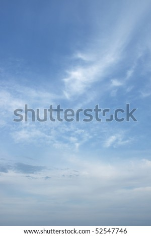 Colorful vertical sky background