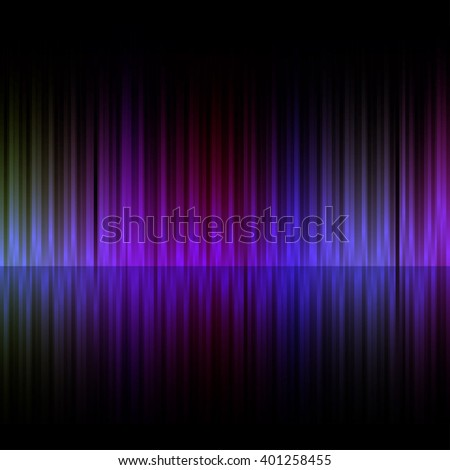 Colorful vertical stripes dark background. - stock photo