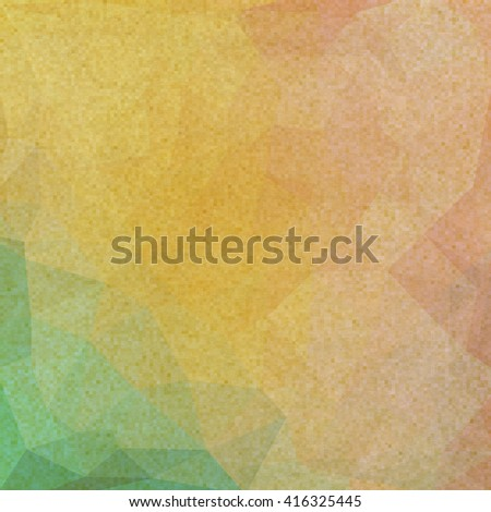 Colorful vintage background, grunge texture with scratches, stains and different color patterns - stock photo