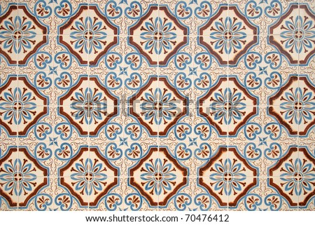 Spanish tile stock images royalty free images vectors for Decorative spanish tile