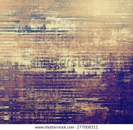 Colorful vintage texture. With different color patterns: brown; gray; purple (violet); blue - stock photo